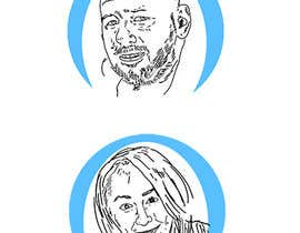 #28 para Sketches of head shots for website por unsoftmanbox