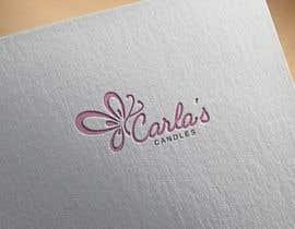 "Nahin29 tarafından Design a logo for ""Carla's Candles""' için no 123"