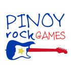 Logo Design for Pinoy Rock Games için Graphic Design6 No.lu Yarışma Girdisi