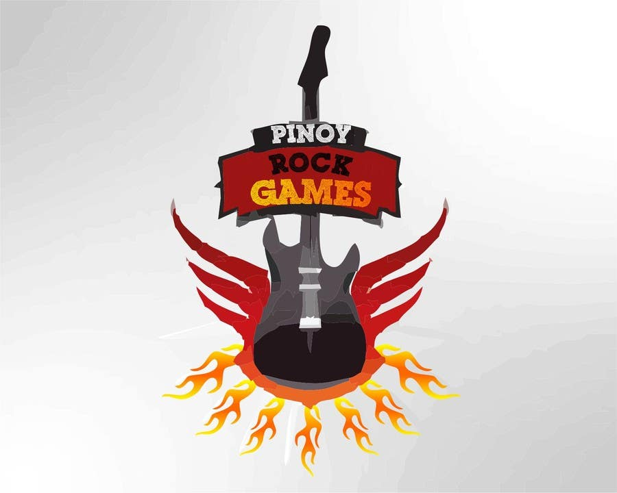 Logo Design Contest Entry #20 for Logo Design for Pinoy Rock Games