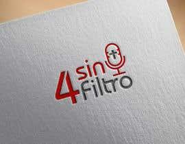 "#12 cho A logo for Radio Show/Program ""4 sin filtro"" bởi heisismailhossai"