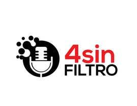 "#39 cho A logo for Radio Show/Program ""4 sin filtro"" bởi alamin216443"