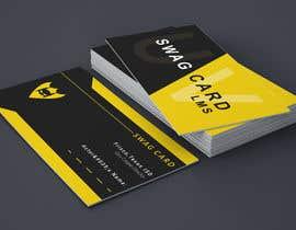 Nro 18 kilpailuun 2 Sided Business Card Design With A New Shield Logo: käyttäjältä miraz6600