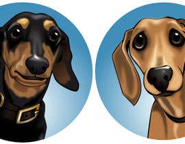 #7 for I would like two images made of each of my dogs, similar to the pin ! by bjcoving