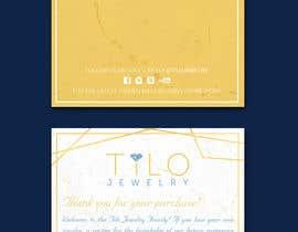 #35 untuk Tilo Jewelry 4x6 flyer oleh dissha