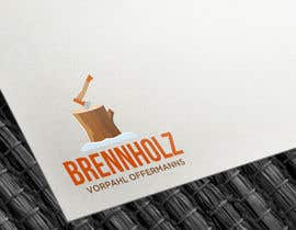 #172 untuk Firewood company searching for logo design oleh Codeitsmarts