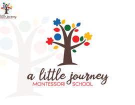"#23 untuk ""A Little Journey Montessori School"" Logo oleh AnshuArts"