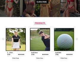 Nro 58 kilpailuun Design Home Screen for Mobile Responsive Website for an Instagram model käyttäjältä soykothosen16030