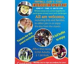 Nro 17 kilpailuun Make a Sports Day Poster - A4 Size käyttäjältä anantadhar1175