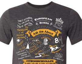#83 untuk Handwritten Shaped Typography T-Shirt Design oleh pgaak2