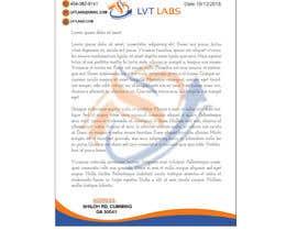 Nro 22 kilpailuun Letterhead Designing PPT Design käyttäjältä asifislam7534