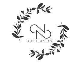 #25 untuk Build a monogram for wedding oleh noobpb54
