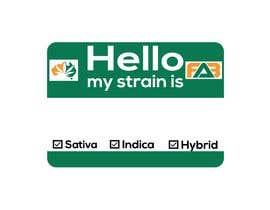 "nº 13 pour Designer a ""hello my strain name is"" sticker par nurulmdraj"