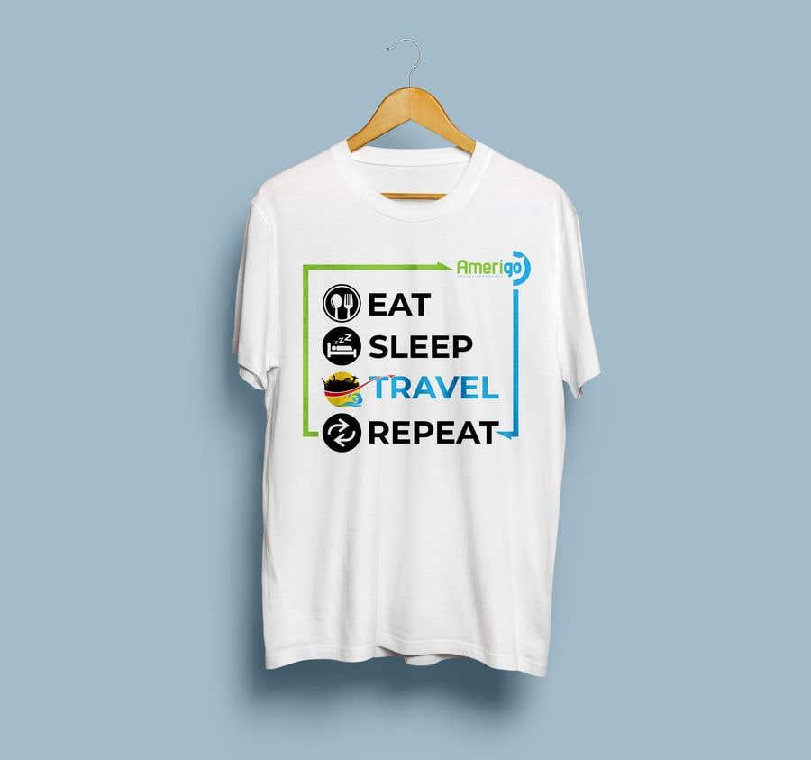 Penyertaan Peraduan #46 untuk Amerigo's T-shirt for a Travel Kit Design - 21/05/2019 07:00 EDT