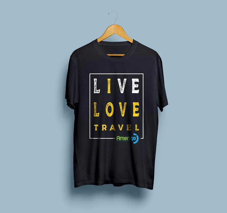 Penyertaan Peraduan #52 untuk Amerigo's T-shirt for a Travel Kit Design - 21/05/2019 07:00 EDT