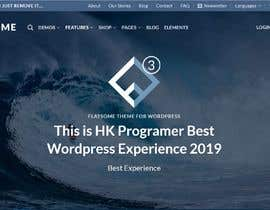 #6 untuk install wordpress and website theme oleh Hk247