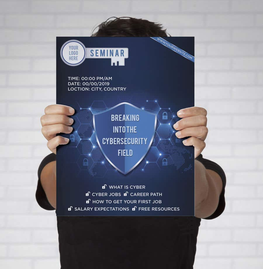 Contest Entry #39 for Make me a Flyer - Cybersecurity