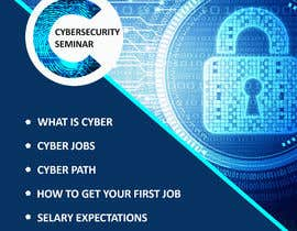 #42 for Make me a Flyer - Cybersecurity by Roboto1849