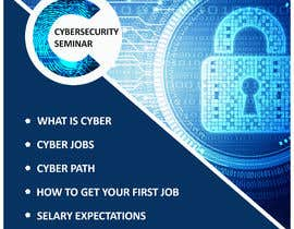 #43 for Make me a Flyer - Cybersecurity by Roboto1849