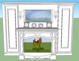 #11 для Design a fireplace accent wall от tayyababid81