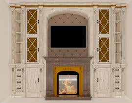 #33 для Design a fireplace accent wall от ssquaredesign