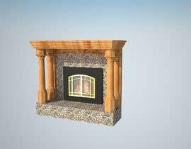 #6 для Design a fireplace accent wall от na4028070