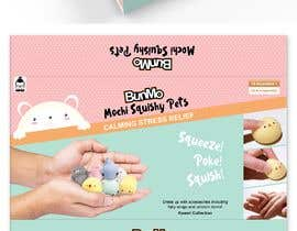 #25 for Create a Package design for Mochi Toys by samratrajgd
