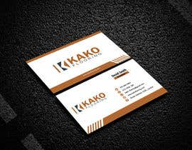 #597 for Design some business card by Utsha2019