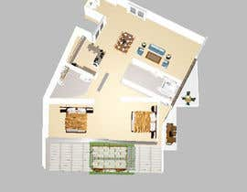 #8 для Interior design and floor plan for city apartment от TheresaSuen