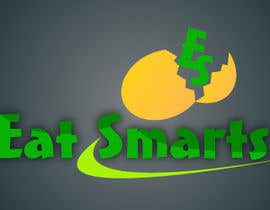 #27 cho Logo Design for Eat Smarts bởi risonsm