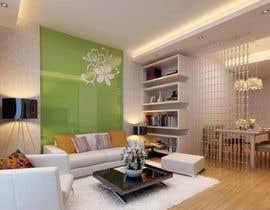 #11 for living area Interior design af Himanshulaiya