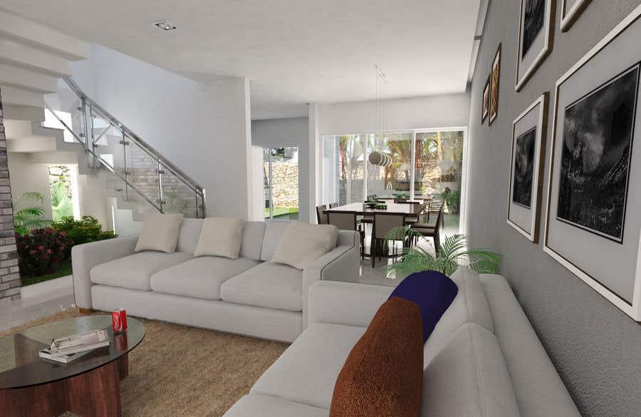 Konkurrenceindlæg #10 for living area Interior design