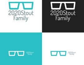 #20 para I'm looking for a family reunion logo that will take place in 2020. So something with 2020, a perfect vision, maybe with glasses, and the family name: Stout  por charisagse
