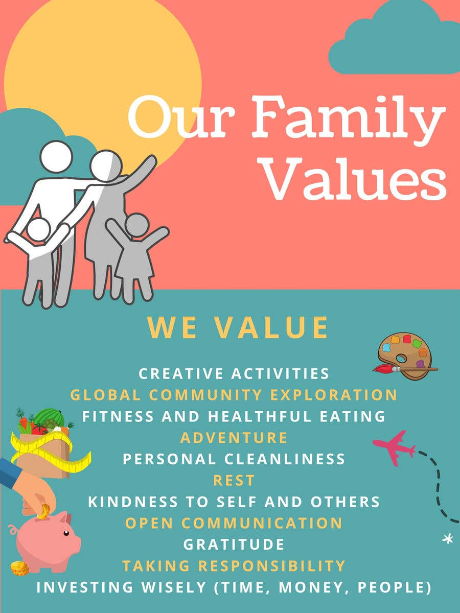 Contest Entry #44 for Family Values Poster
