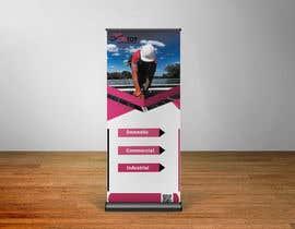 Nro 19 kilpailuun I need a pull up banner designed for our company käyttäjältä Hasnainbinimran