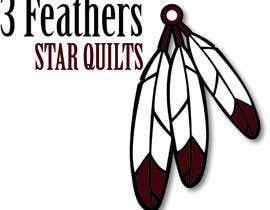 #47 for Design a Logo for 3 Feathers Star Quilts af atlstuart