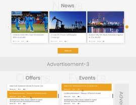 #24 для Website Homepage Design Contest от Javid004
