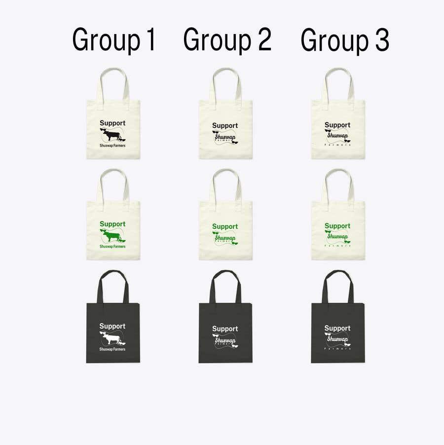 Inscrição nº 4 do Concurso para Support Shuswap Farmers - tote bag design
