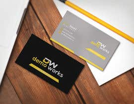 #154 para Design Business Card por galib2611