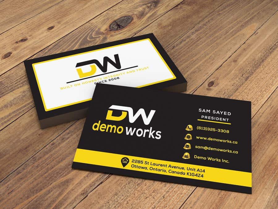 Конкурсная заявка №163 для Design Business Card