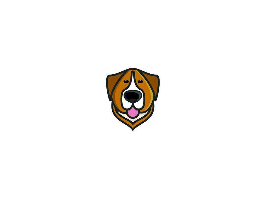 Конкурсная заявка №43 для Logo design of dog head with tongue sticking out