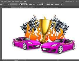 #11 for Make a Watercolor Race Car design in Vector file by msourov17