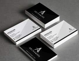 #36 for Redesign business cards in modern, clean look in black & white or gold & white af mrsmhit835