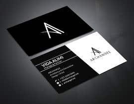 mrsmhit835 tarafından Redesign business cards in modern, clean look in black & white or gold & white için no 39