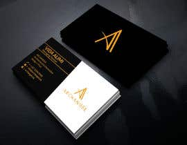 #40 for Redesign business cards in modern, clean look in black & white or gold & white af mrsmhit835