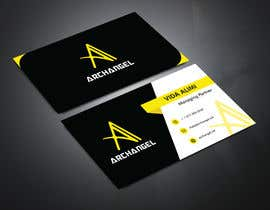 #24 для Redesign business cards in modern, clean look in black & white or gold & white от farazgd