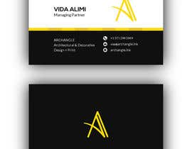 #23 for Redesign business cards in modern, clean look in black & white or gold & white af mominUix