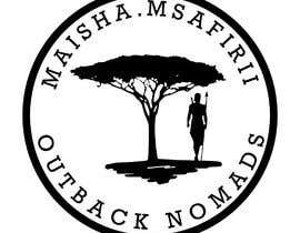 nº 13 pour Maisha.msafirii Logo Design for outback nomads par Astry9