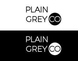 #115 for Logo design - Plain Grey Co by activedesigner99