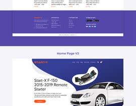 #32 para Design UI/UX for the main page of  our eCommerce site por saddam36